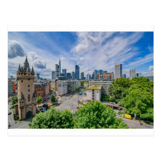 Frankfurt Skyline Postcard