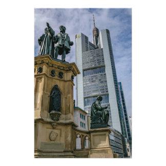 Frankfurt Skyline Stationery