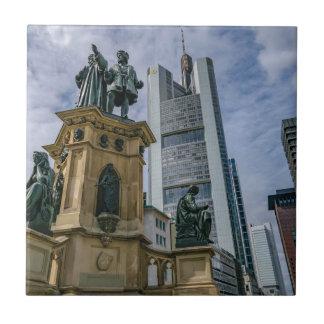 Frankfurt Skyline Tile