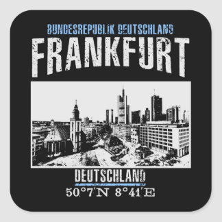 Frankfurt Square Sticker