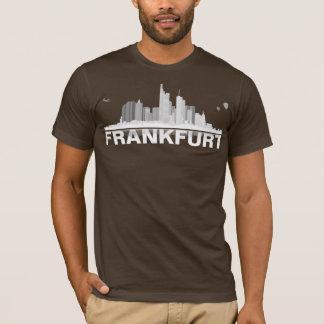Frankfurt town center of skyline shirt