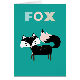 Frankie fox card