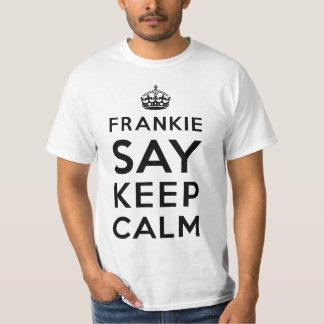 Frankie Say Keep Calm (Light tee version)