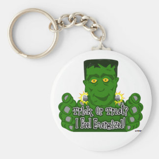 Frankie Trick Or Treat I Feel Energized Keychains