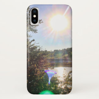 Franklin Canyon Park Lake 2 iPhone X Case
