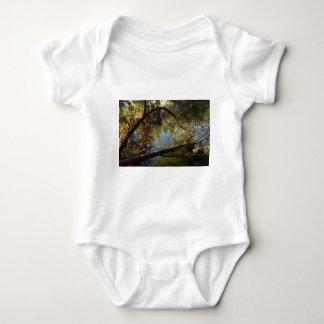 Franklin Canyon Park Lake 4 Baby Bodysuit