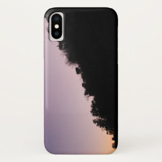 Franklin Canyon Park Twilight iPhone X Case