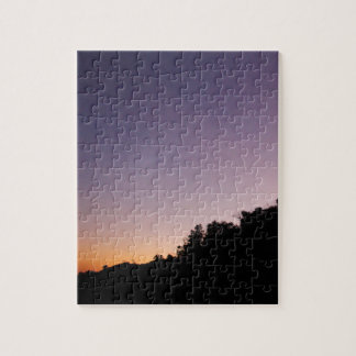 Franklin Canyon Park Twilight Jigsaw Puzzle