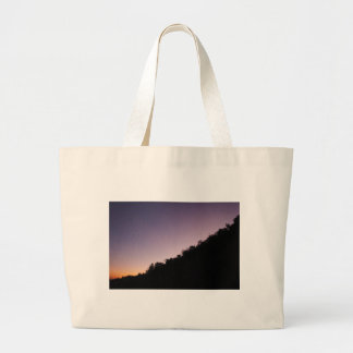 Franklin Canyon Park Twilight Large Tote Bag