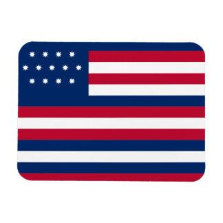 Franklin Flag flexible magnet