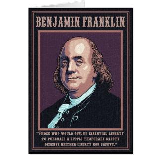 Franklin -Liberty Card