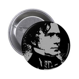 Franklin Pierce silhouette Pins