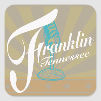 Franklin Tennessee Stickers