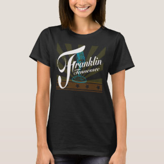 Franklin Tennessee T-Shirt with Rays & Microphone