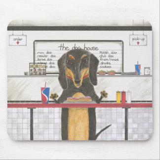 Franklin, the Dachshund Mousepad