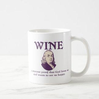 Franklin - Wine Mug