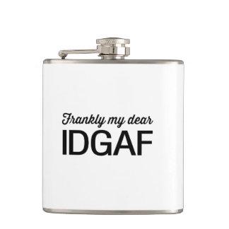 Frankly Me Dear, IDGAF Hip Flask