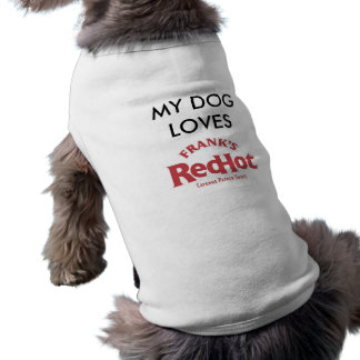 Frank's RedHot Doggie T-shirt