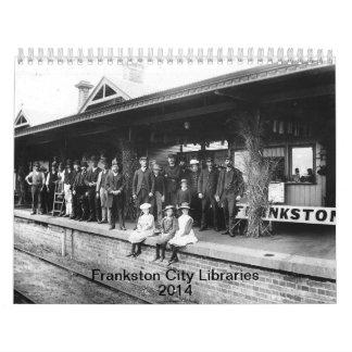 Frankston City Libraries calendar 2014