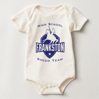 Frankston High School Rodeo Team Baby Creeper