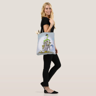 FRANKY ALIEN  All-Over-Print Tote Bag MEDIUM