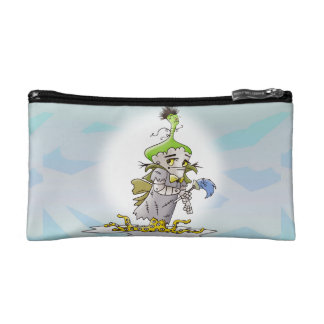 FRANKY BUTTER ALIEN Small Cosmetic  bag