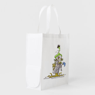 FRANKY BUTTER  sac Réutilisable Reusable Grocery Reusable Grocery Bag
