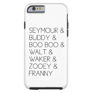 Franny Zooey Glass Family iPhone 6 case Tough iPhone 6 Case