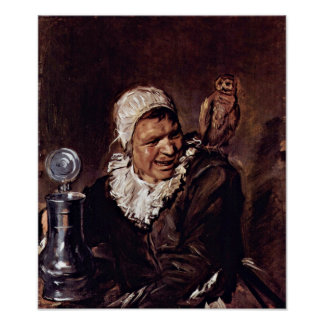 Frans Hals - Malle Babbe Poster