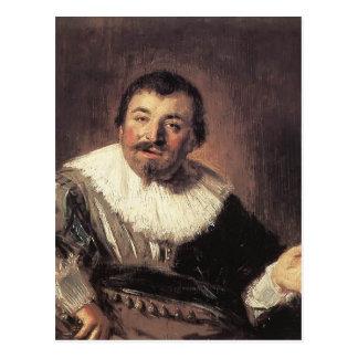 Frans Hals- Portrait of Isaac Abrahamsz Postcard