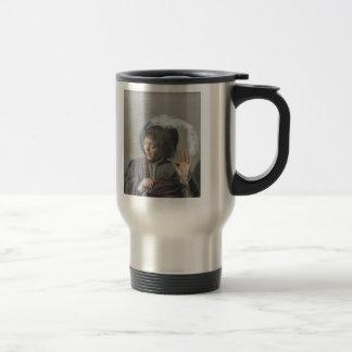 Frans Hals- Singing Boy with a Flute Travel Mug