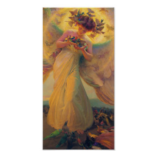 Franz Dvorak Angel CC0432 Cardstock Poster