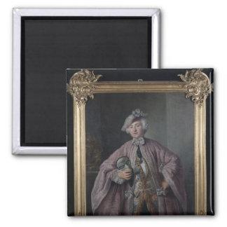 Franz Isaak von Chasot Square Magnet