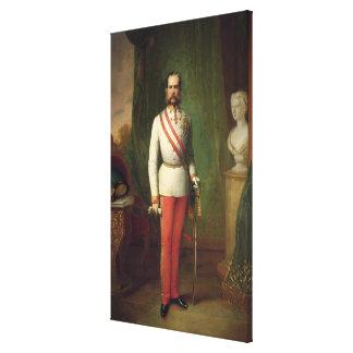 Franz Joseph I Canvas Print
