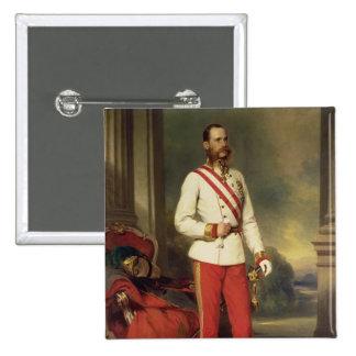 Franz Joseph I Emperor of Austria Pinback Buttons