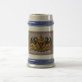 Franz Joseph I of Austria Hungary Beer Stein