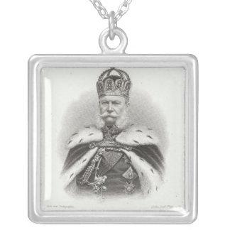 Franz-Joseph I of Austria Silver Plated Necklace