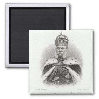 Franz-Joseph I of Austria Square Magnet