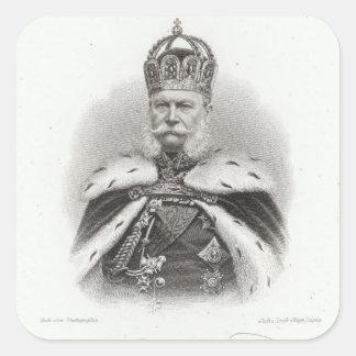 Franz-Joseph I of Austria Square Sticker