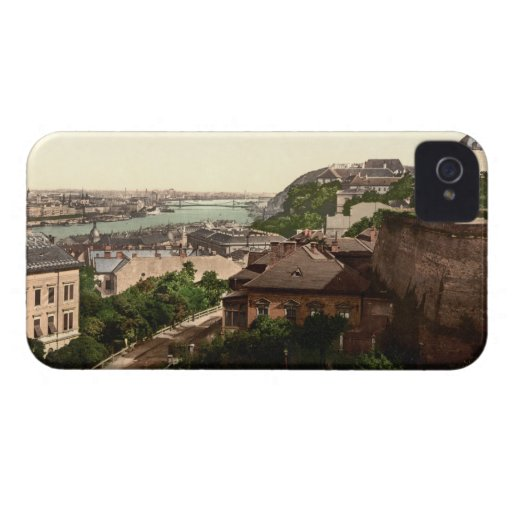 Franz Josephs Bridge, Budapest, Hungary iPhone 4 Cover