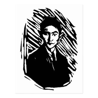 Franz Kafka Portrait Post Card