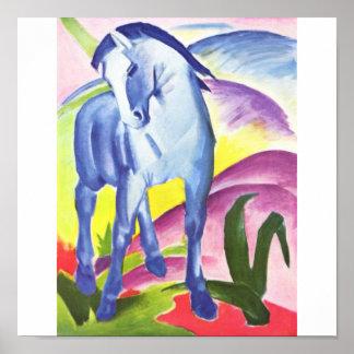 Franz Marc Blue Horse fine art Poster