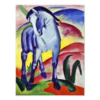 Franz Marc Blue Horse Vintage Fine Art Painting Photo