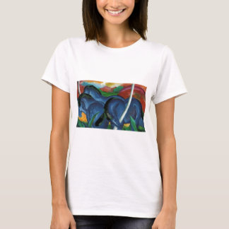 franz marc blue horses  design T-Shirt