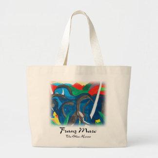 Franz Marc - Blue Horses Jumbo Tote Bag