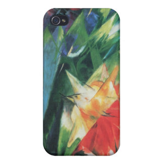 Franz Marc - Fowl Case For iPhone 4