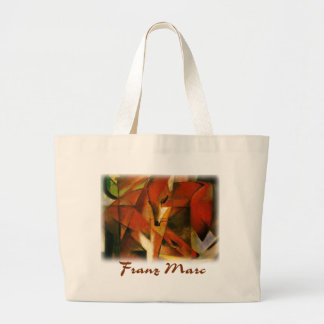 Franz Marc - Foxes Jumbo Tote Bag