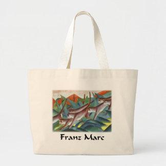Franz Marc - Monkey Frieze (Detail) Jumbo Tote Bag