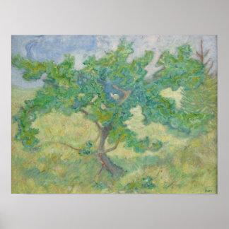 Franz Marc Oak tree Poster