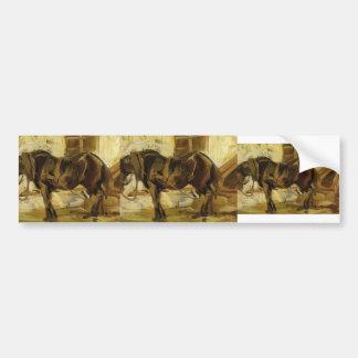 Franz Marc: Small Horse Study Bumper Stickers